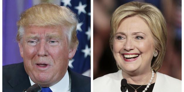 Victoires écrasantes de Trump et Clinton aux primaires de New York