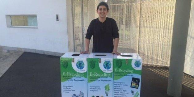 A 15 ans, ce lycéen marocain lance un système de collecte des déchets électroniques
