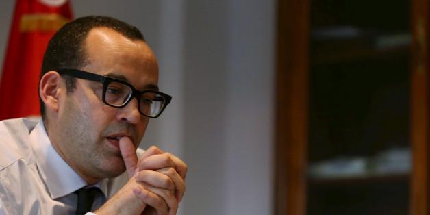Yassine Brahim, président d'Afek Tounes et ministre du Développement, de l'investissement et de la coopération internationale.