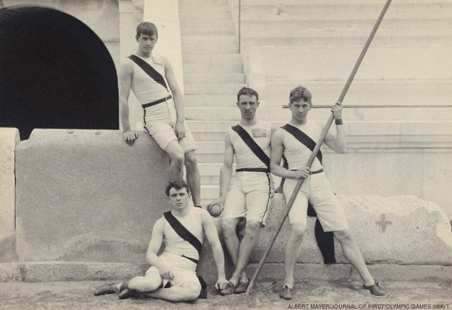 Imagenes Vintage De Los Primeros Juegos Olimpicos Modernos De 1896