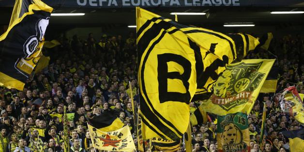 Borussia Dortmund spielt in Berlin gegen Hertha. Die Fans sind sicher auch dort mit dabei...