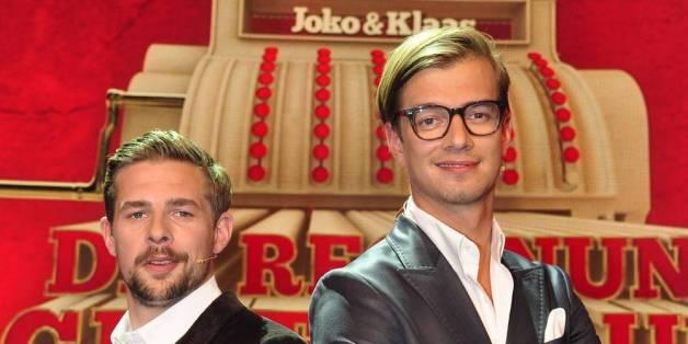 """Joko Winterscheidt und Klaas Heufer-Umlauf hoffen mit ihrer neuen Sendung """"Die Beste Show der Welt"""" auf einen Quotenerfolg"""