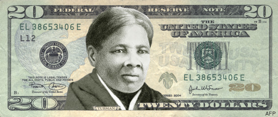 femme noire billet americain
