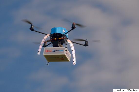 australia post drone
