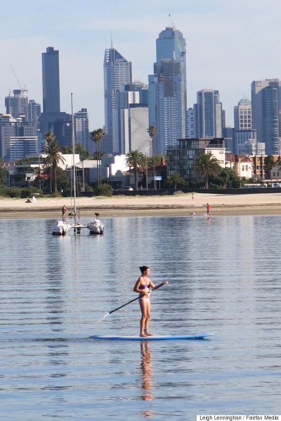standup paddle melbourne