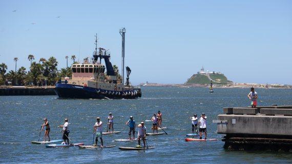 standup paddle newcastle