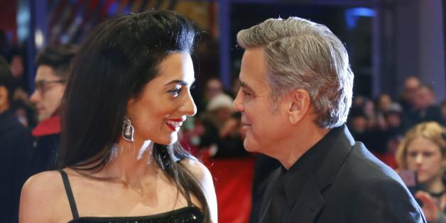 """George Clooney nennt Amal die """"Liebe seines Lebens"""""""