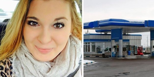 Sie sah einen weinenden Mann an der Tankstelle - auf dem Rücksitz seines Autos entdeckte sie den Grund