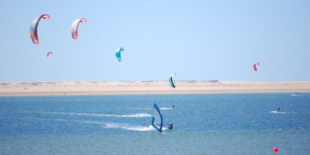 Dakhla, capitale marocaine du kitesurf