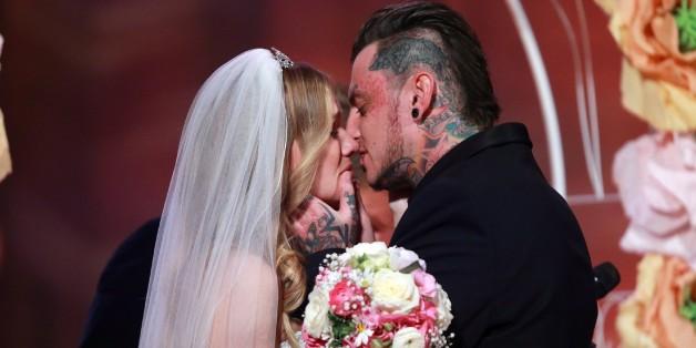 DSDS-Kandidatin Sandra Berger heiratet in der Event-Show