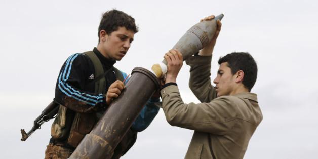 Junge Kämper der Al-Nusra-Front