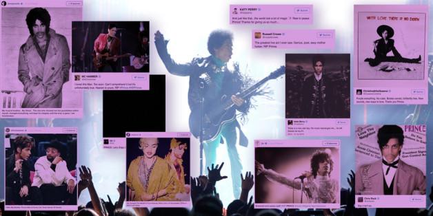 Les hommages pleuvent après la mort de Prince
