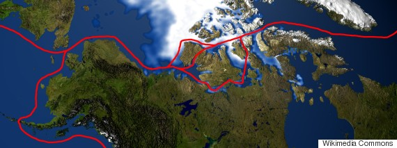 northwest passage map canada