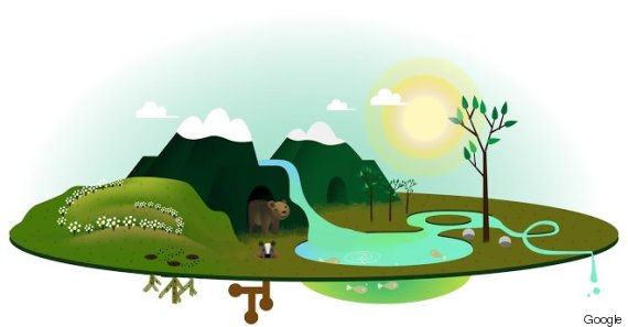 earth day doodle 2013