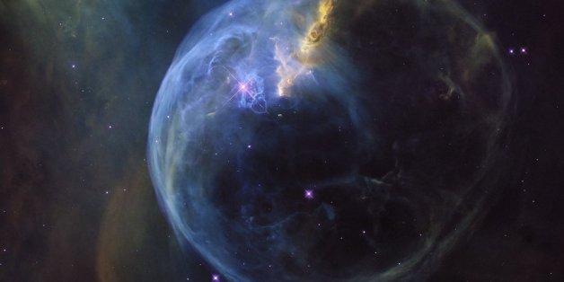 L'image splendide d'une bulle dans l'espace diffusée par la NASA
