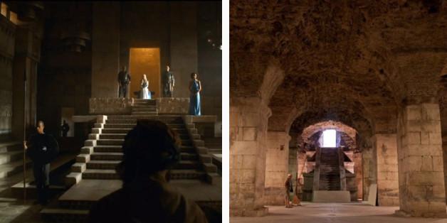 """À quoi ressemblent vraiment les lieux de tournage de """"Game of Thrones"""""""