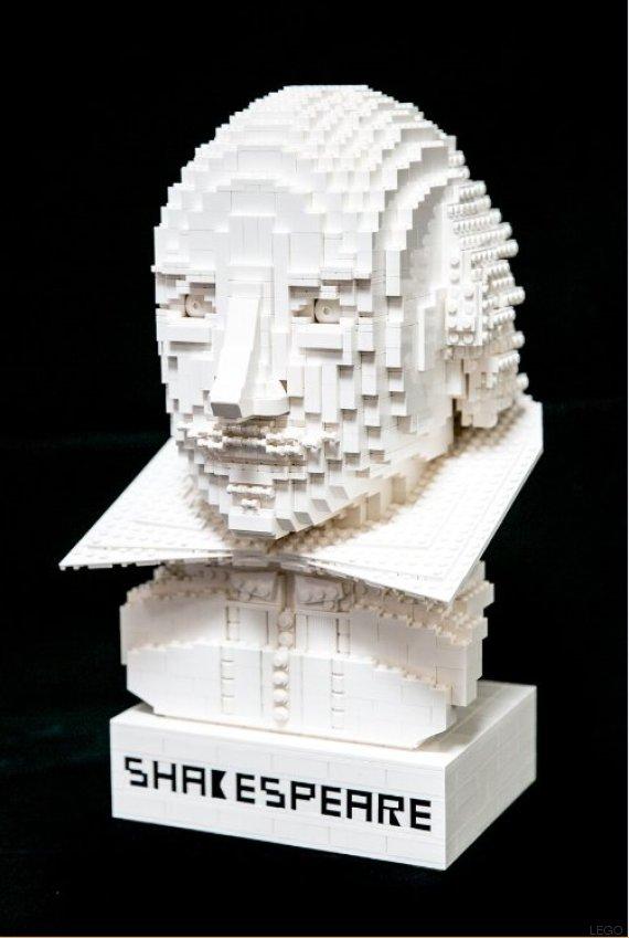 busto shakespeare lego