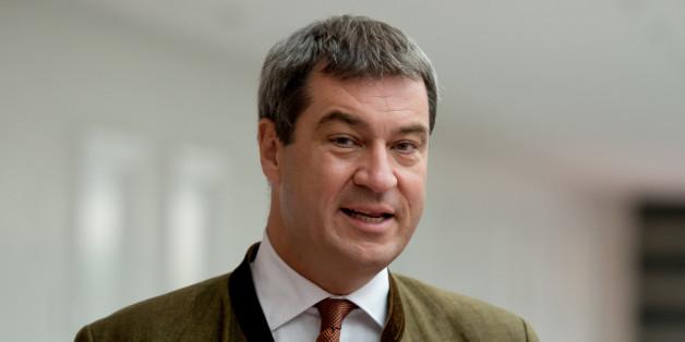Wie sich CSU-Politiker Markus Söder zum Ministerpräsidenten hetzt