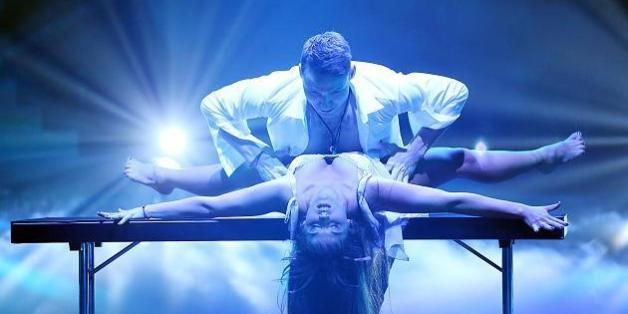 Sarah Lombardi ließ bei Let's Dance tief blicken