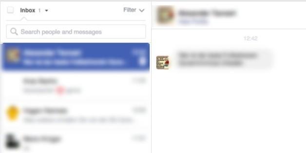 Achtung, diese Facebook-Nachricht ist gefährlich - sie kann Leben zerstören