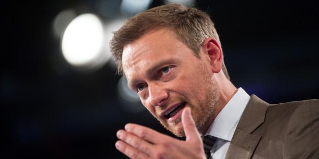 Christian Lindner, FDP-Bundesvorsitzender, beim Bundesparteitag der FDP in Berlin