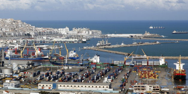 The port of Algiers is seen in Algiers, February 19, 2015. REUTERS/Amr Abdallah Dalsh (ALGERIA - Tags: BUSINESS MARITIME)
