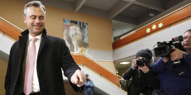 Der siegreiche Kandidat Norbert Hofer
