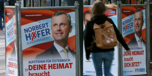 Wahlplakate in Österreich