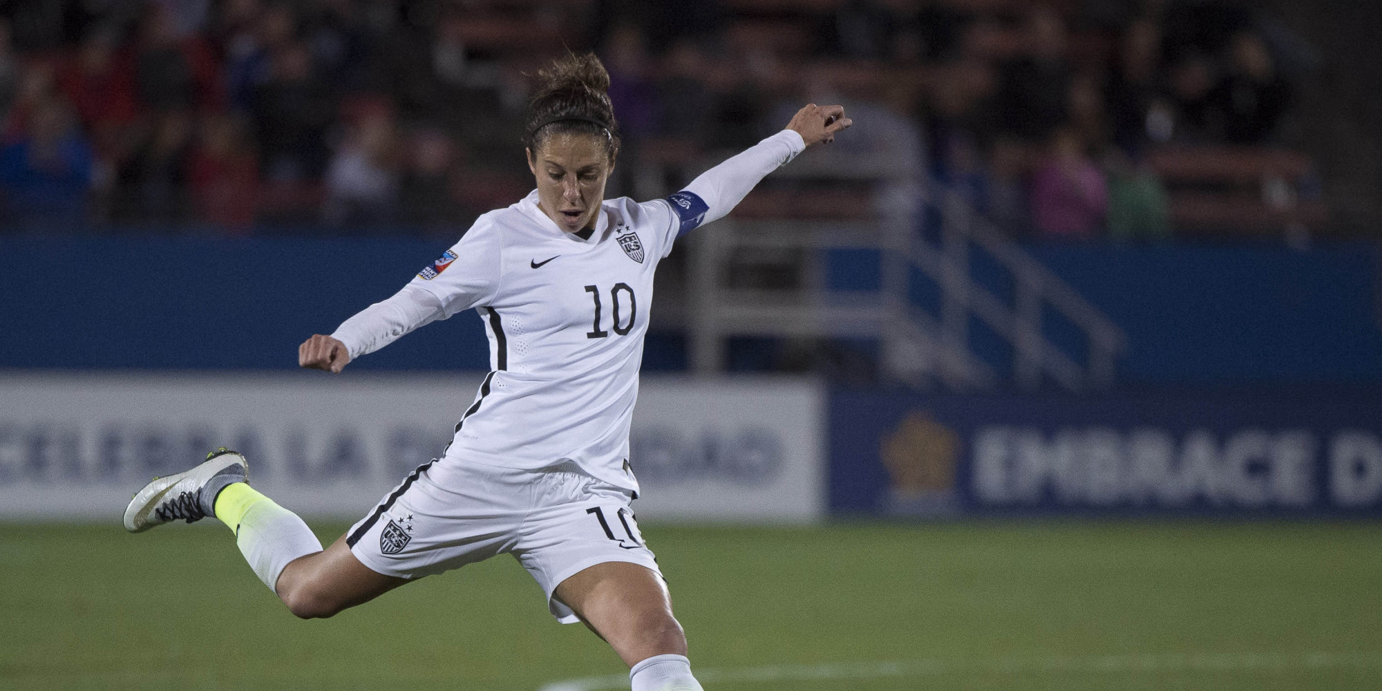 Carli Lloyd Quotes Equal Pay For Equal Play Too  Huffpost