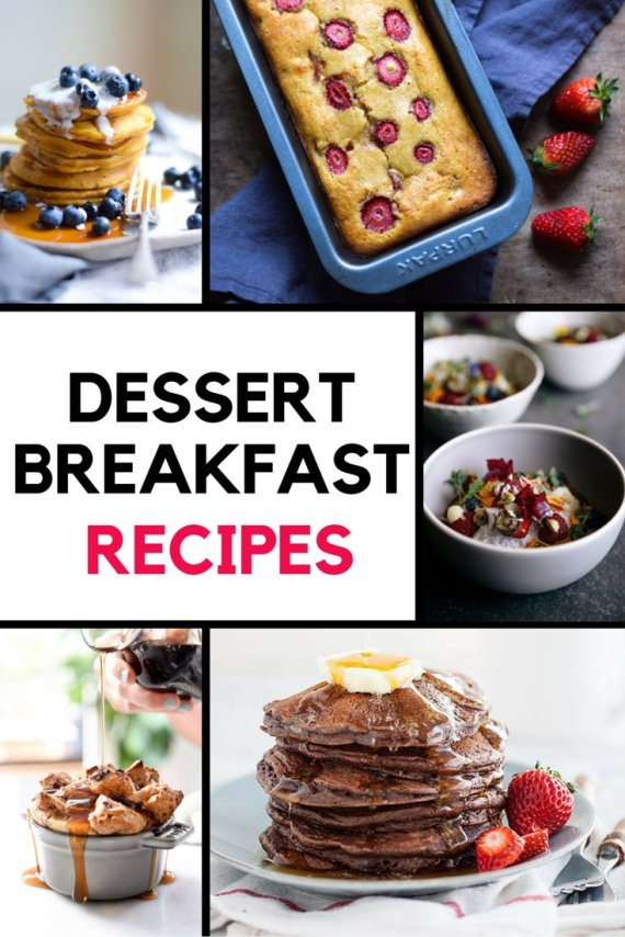 dessert breakfast recipes