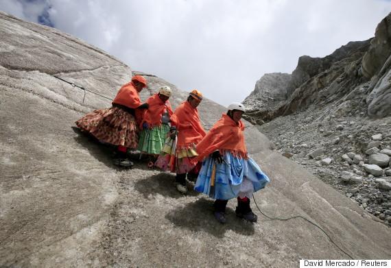 bolivia aymara women