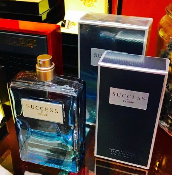 donald trump parfum