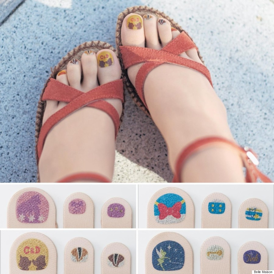 Pre-Painted Toenail Tights Are The Latest Fashion Craze Out Of Japan
