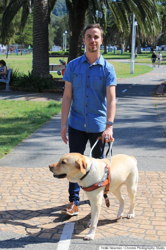 matt mclaren guide dog respect