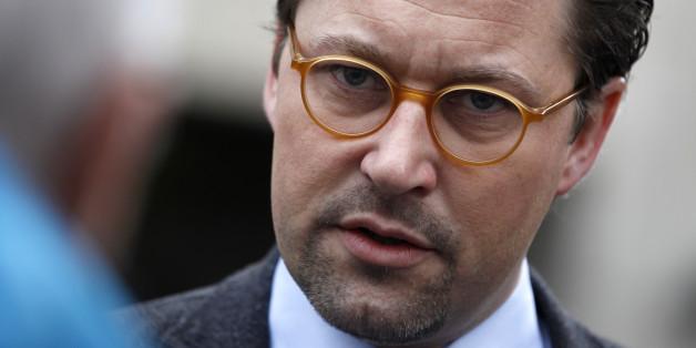 Der Generalsekretär der CSU, Andreas Scheuer