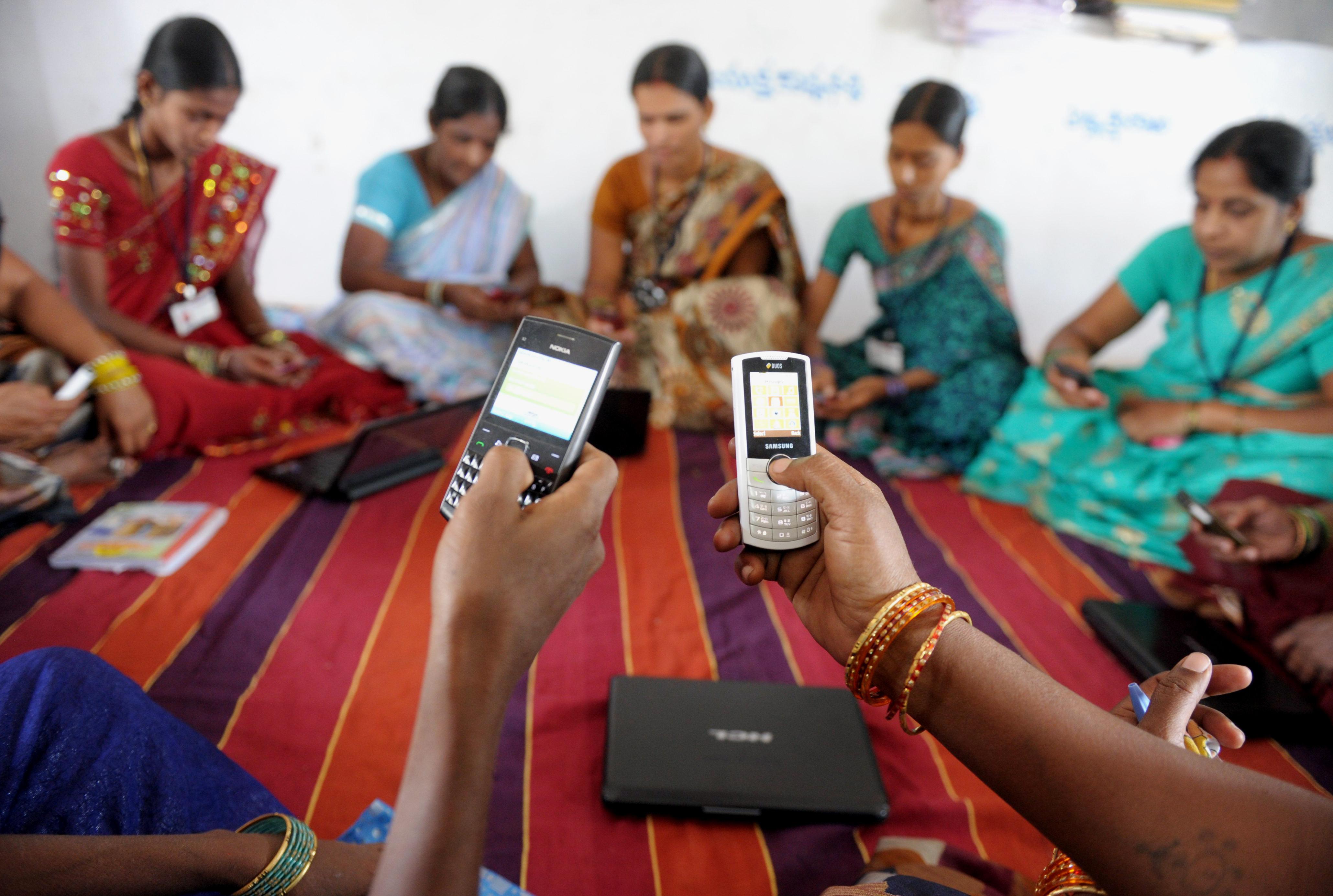 india mobile village