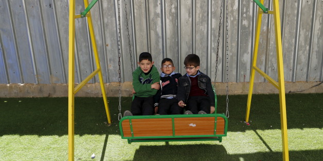 Kinder auf einem Schulhof (Symbolbild)