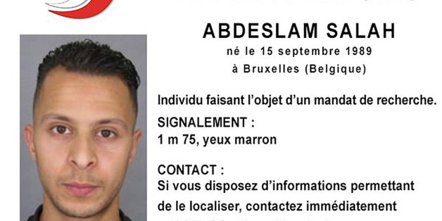 Handout file picture shows Belgian-born Salah Abdeslam on a call for witnesses notice released by the French Police Nationale information services on their twitter account November 15, 2015. Salah Abdeslam, the Paris attacks suspect who was arrested in Brussels last month, refused to blow himself up on the day of the attacks, his brother Mohamed told French news channel BFM TV.   REUTERS/Police Nationale/Handout via Reuters    ATTENTION EDITORS - THIS PICTURE WAS PROVIDED BY A THIRD PARTY. REUTERS IS UNABLE TO INDEPENDENTLY VERIFY THE AUTHENTICITY, CONTENT, LOCATION OR DATE OF THIS IMAGE. EDITORIAL USE ONLY. NOT FOR SALE FOR MARKETING OR ADVERTISING CAMPAIGNS. NO RESALES. NO ARCHIVE. THIS PICTURE IS DISTRIBUTED EXACTLY AS RECEIVED BY REUTERS, AS A SERVICE TO CLIENTS      TPX IMAGES OF THE DAY