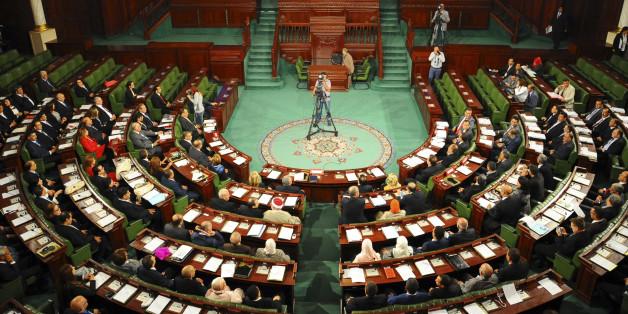 L'Assemblée des représentants du peuple en séance plénière.