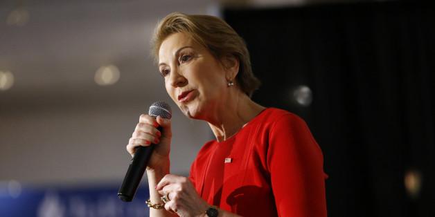 Carly Fiorina bei einer Wahlkampagne im April 2016