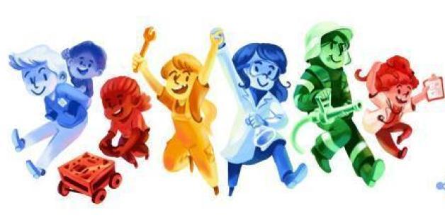 """Google begeht den """"Girls' Day"""" und """"Boy's Day"""" mit einem Doodle"""