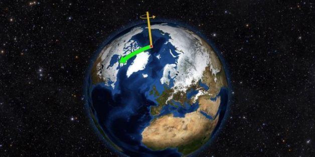 Verschiebung der Erdachse: Forscher kommen dem Geheimnis der taumelnden Erde auf die Spur