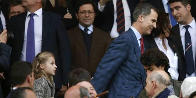 Champions-League-Halbfinale: König Felipe sorgt für Ärger