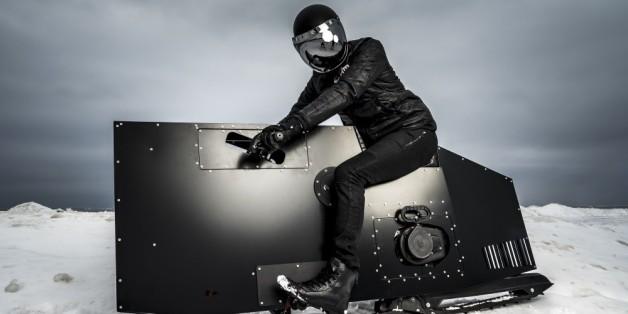 Voici Snoped, une motoneige futuriste qui en jette (VIDÉO)