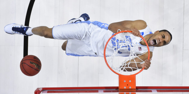 Mar 19, 2016; Raleigh, NC, USA; North Carolina Tar Heels forward Brice Johnson (11) dunks the ball against the Providence Friars during the second round of the 2016 NCAA Tournament at PNC Arena. The Tar Heels won 85-66. Mandatory Credit: Bob Donnan-USA TODAY Sports