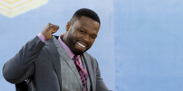 "Rapper 50 Cent, whose real name is Curtis James Jackson III, appears on ABC's ""Good Morning America"" show in New York July 24, 2015. REUTERS/Brendan McDermid"