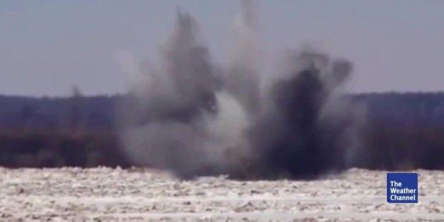 Russen bombardieren Fluss – aus gutem Grund