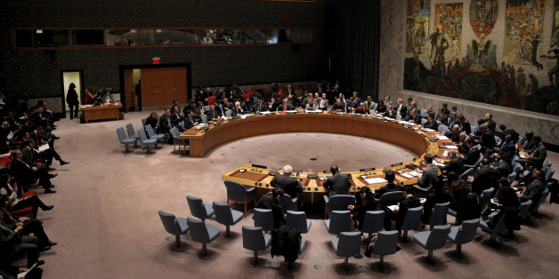 The United Nations Security Council holds a meeting on the Middle East at U.N. headquarters in New York, January 26, 2016.  REUTERS/Mike Segar