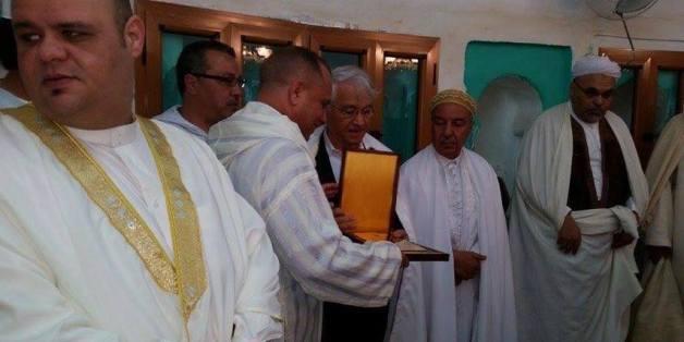 Chakib Khelil, jeudi, à la zaouïa Sidi Brahim à Annaba
