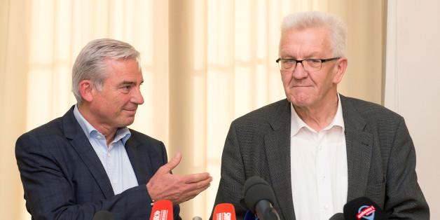 Baden-Württemberg: Grüne und CDU einigen sich auf Koalitionsvertrag